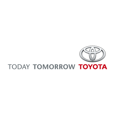 Today Tomorrow Toyota vector logo