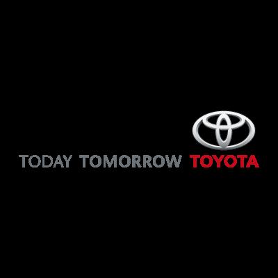 Today Tomorrow Toyota vector logo