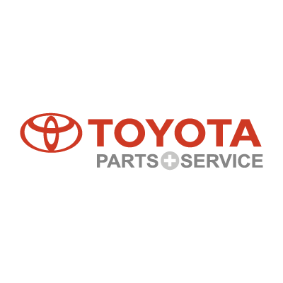 Toyota Parts & Service vector logo free download