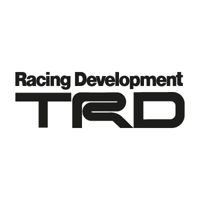 TRD black vector logo