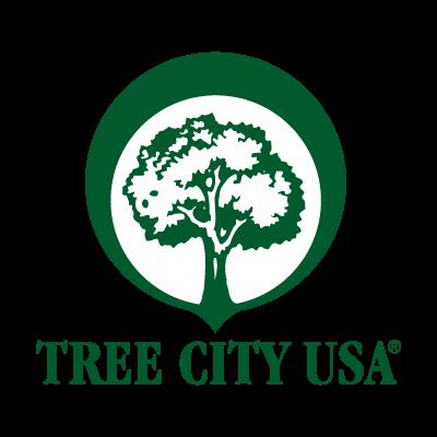 Tree City USA vector logo