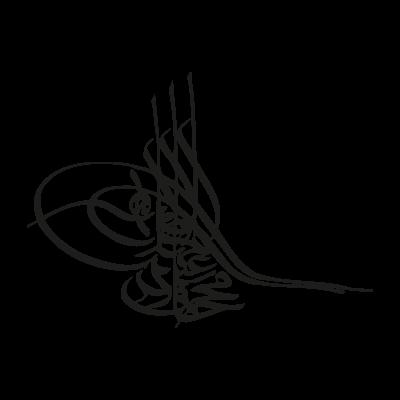 Tugra black vector logo