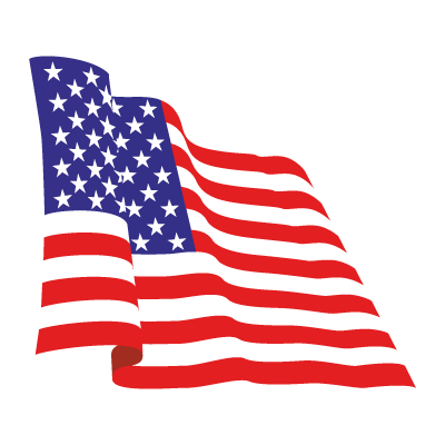 Flag of USA logo
