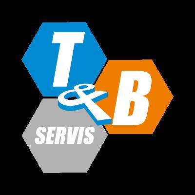T & B vector logo