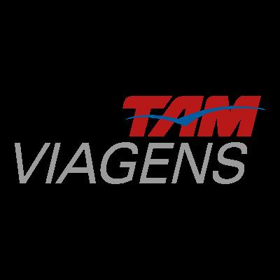 Tam viagens vector logo