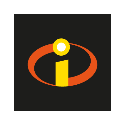 The Incredibles (movies) vector logo