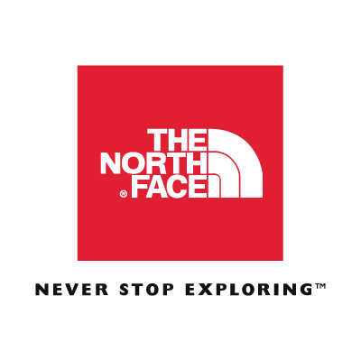 The North Face (Red) vector logo
