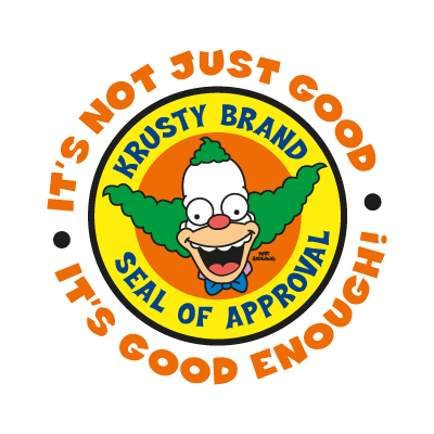 The Simpsons (Krusty Brand) logo