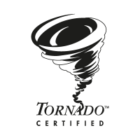 Tornado Certified vector logo free download