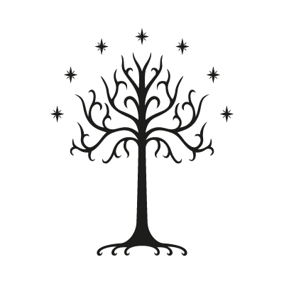 Tree of Gondor vector logo