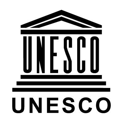 Unesco Black vector logo