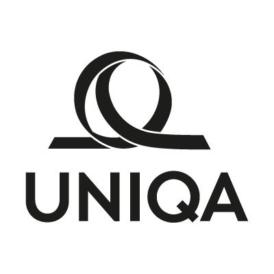 Uniqa Black vector logo