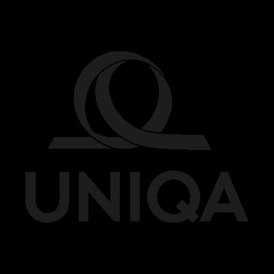 Uniqa Black vector logo