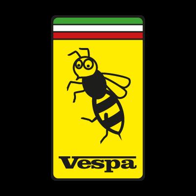 Vespa Ferrari vector logo