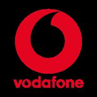 Vodafone PLC vector logo free download