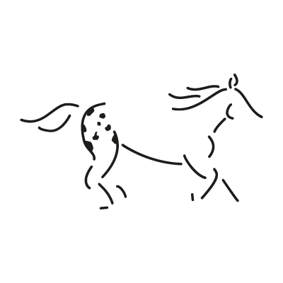 Walkaloosa Horse Ranch logo