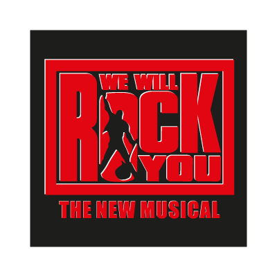 We will rock you vector logo