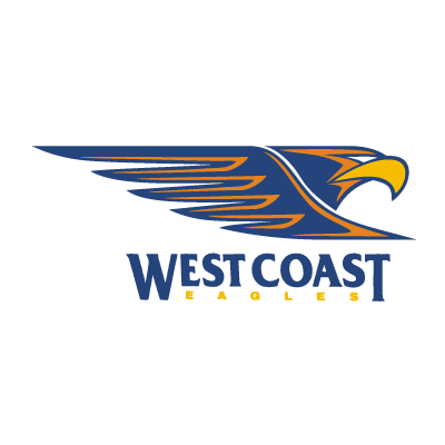 West Coast Eagles vector logo