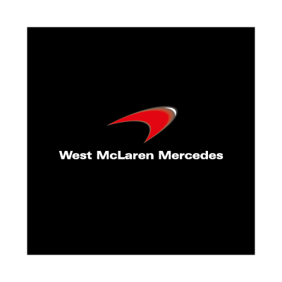 West McLaren Mercedes vector logo