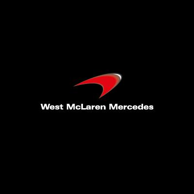 West McLaren Mercedes vector logo