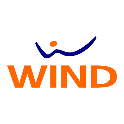 Wind vector logo