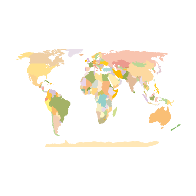 World Map Earth logo
