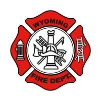 Wyoming Fire Department vector logo free