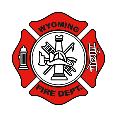 Wyoming Fire Department vector logo