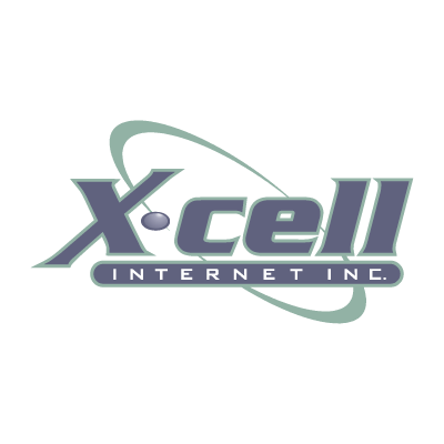 X-cell Internet vector logo
