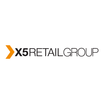 X5 retail group vector logo