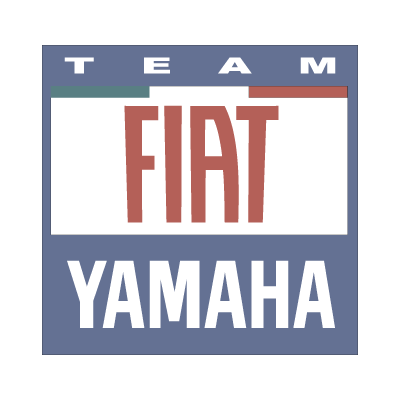Yamaha Fiat team 2007 vector logo