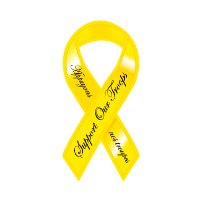 Yellow Ribbon vector logo