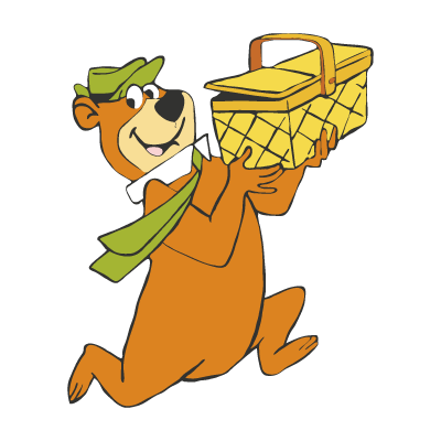 Yogi Bear vector