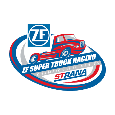ZF Super Truck Racing vector logo