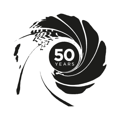 007 50th Anniversary vector logo