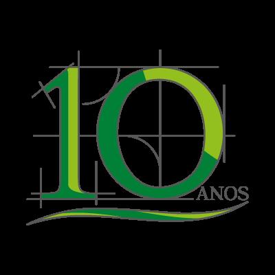 10 Anos vector logo
