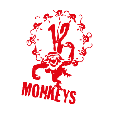 12 monkeys vector logo