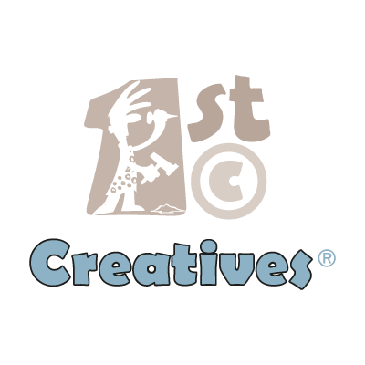 1st Creatives vector logo