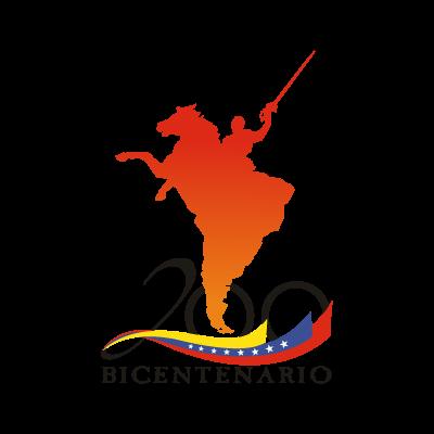 200 Bicentenario Venezuela vector logo