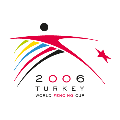 2006 turkey world fencing cup vector logo