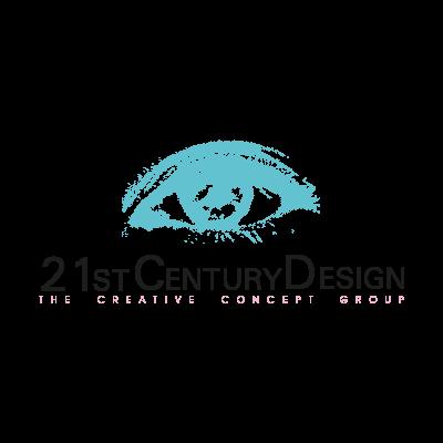 21st Century Design vector logo