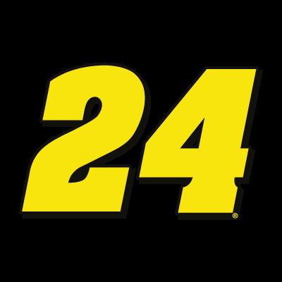 24 Hendrick Motorsports vector logo