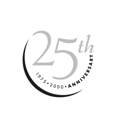 25th Anniversary vector logo