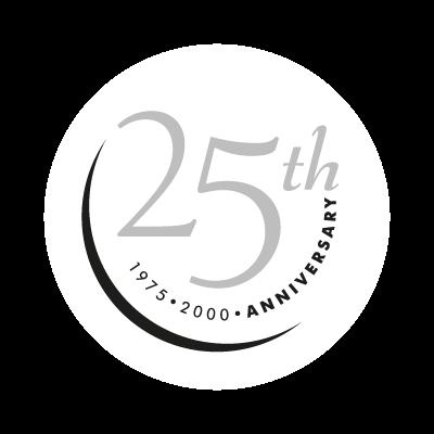 25th Anniversary vector logo