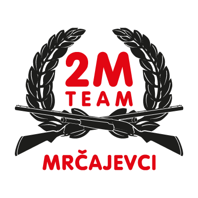 2M racing team vector logo
