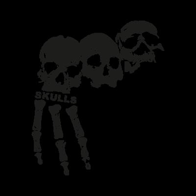 3 skulls logo