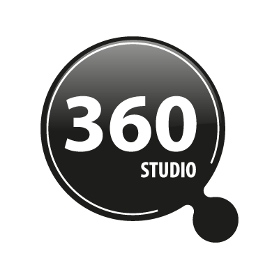 360 studio vector logo