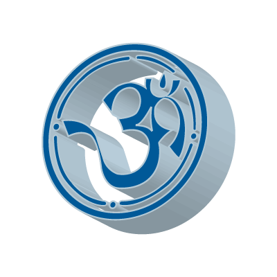 3D Aum logo