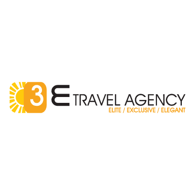 3E Travel Agency vector logo