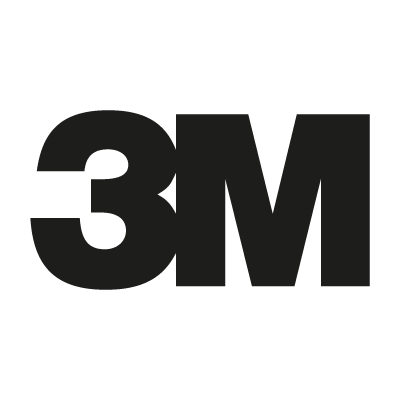 3M Black vector logo